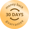 30 days money back guarantee.