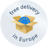 Free delivery in Europe